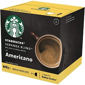 订阅9折Starbucks 咖啡胶囊, Box of 12 Capsules, 102g (12 Serves)