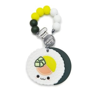 Loulou LollipopSushi Roll Silicone Teether Set
