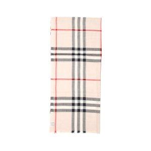 Burberry码DEALMOON15格纹围巾