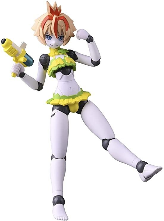 机器人新人类 Polynian Polynian 露西奥 [女孩比基尼] 无比例 PVC&ABS制 已上色可动手办