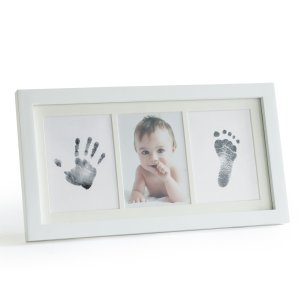 Up&RaiseMess-Free Ink Baby Footprint & Handprint Picture Frame Kit