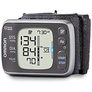 $44.99 Omron 7 Series Bluetooth Wireless Wrist Blood Pressure Monitor 100 Reading Memory
