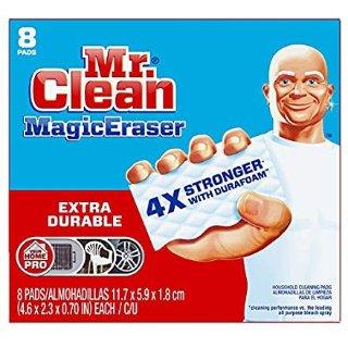 $6.57 销量冠军Mr Clean 4倍强效魔法清洁海绵 8个装