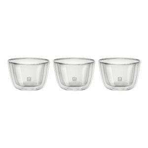 Zwilling双层玻璃碗 3件套