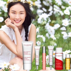 6-piece gifton orders over $75 @ Clarins