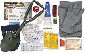 Lifeline 4390AAA AAA Severe Weather Road Safety Kit-66 Pieces