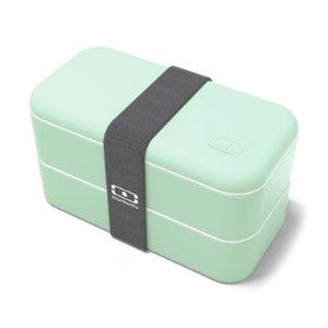 Monbento抹茶色便当盒