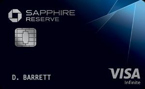 Earn 50,000 Bonus PointsChase Sapphire Reserve®