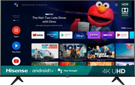 """75"""" Class A6G Series LED 4K UHD Smart Android TV"""