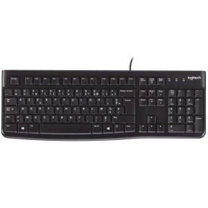 Logitech5.3折,有线K120 键盘(黑色)