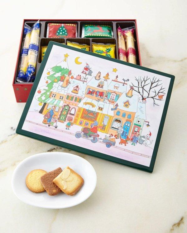 节日款饼干礼盒