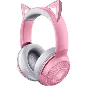 猛男全家桶 Karken 游戏耳机$47Razer 猛男专场 少女粉猫耳无线耳机特卖 $79.99