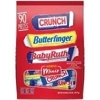 Nestle 迷你巧克力 混合100颗装 Butterfinger、Crunch 都有