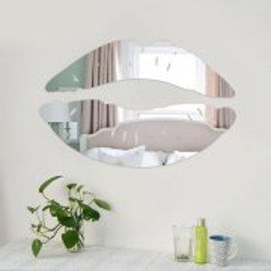 Mirror Wall Sticker Decals