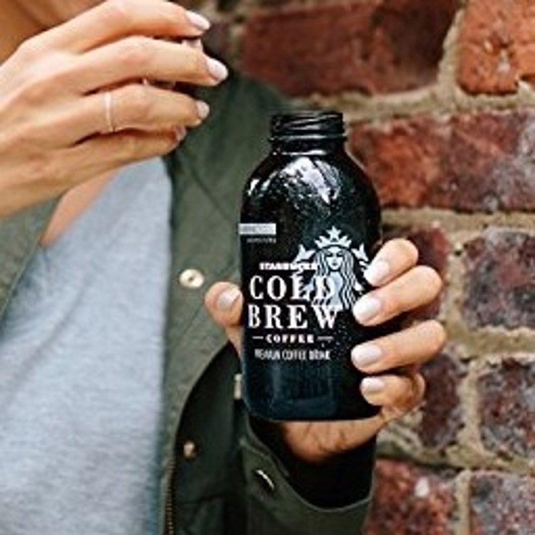玻璃瓶装 冷萃含糖黑咖啡 11oz 6瓶