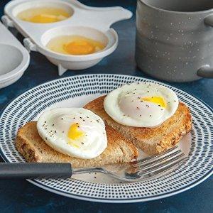 $2.17 销量冠军白菜价:Nordic Ware 微波炉荷包蛋煮蛋器,2个装