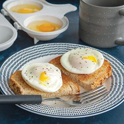 $2.17Nordic Ware 64702 Microwave 2 Cavity Egg Poacher