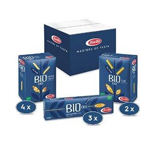 Barilla10包套装 Multipack mit 3 Varianten Bio Pasta, 9 Packungen mit 500g, 1er Pack (1 x 4.5 kg)