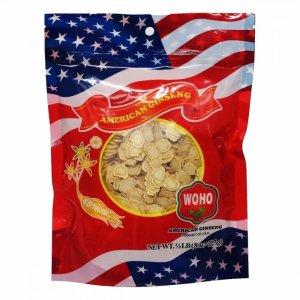 WOHO #125.8 美国花旗参精选小号参片 8oz袋装