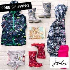 低至4.5折+无门槛包邮即将截止:Joules 英国高品质童装童鞋特卖 可爱田园小清新