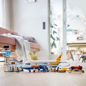 $113(原价$139.99)LEGO 乐高 60262 城市系列 民航客机 共669颗粒