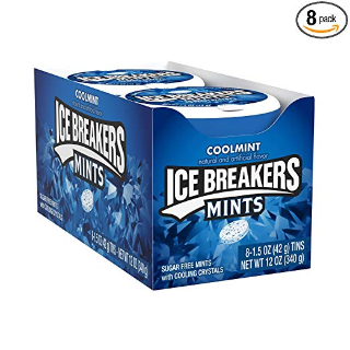 $9.48 免邮ICE BREAKERS 超清凉薄荷糖 15盎司 8盒