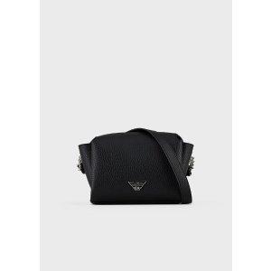 Emporio ArmaniMini Shoulder Bag With Eagle Plate for Women | Emporio Armani