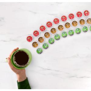 8.5折 每杯仅$0.6Keurig K-Pod 咖啡胶囊囤货好时机 $15收Tim 经典咖啡24颗