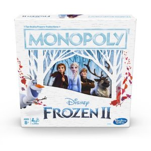 Monopoly Game: Disney Frozen 2 Edition Board Game for Ages 8 and Up - Walmart.com