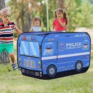 满$200免费送Qaba 儿童玩具警车