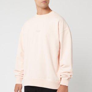Acne Studios脏粉色卫衣
