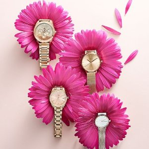 30% Off Coach Fossil Women's and Men's Watches @ macys.com