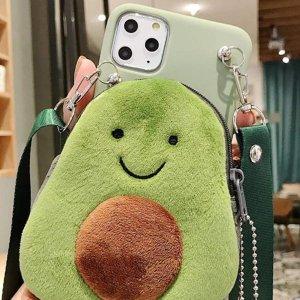 多机型匹配手机壳$1起海量可爱手机壳热卖 牛油果手机壳$4 镜面手机壳$5 3D手机壳$4