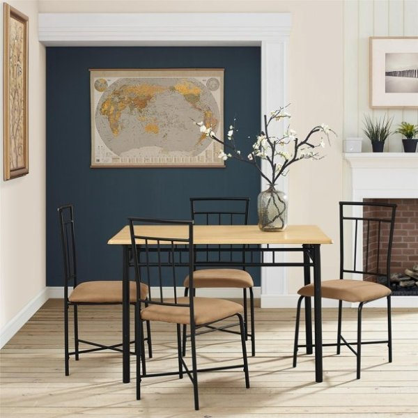 餐桌餐椅5件套