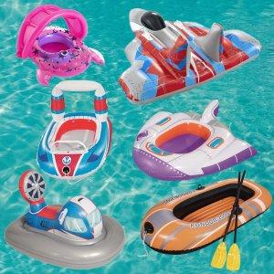 低至7.7折 $8收卡通游泳圈Indigo 儿童夏日游泳装备 Ins风游泳圈,沙滩小铁桶都备起来