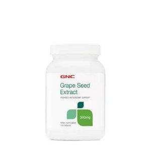 GNC300mg高含量120粒装葡萄籽