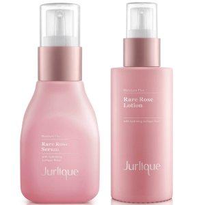 Jurlique玫瑰水+玫瑰乳液 套装
