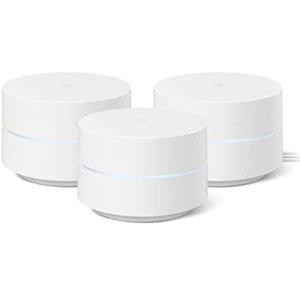 Google WiFi Mesh 路由3个 AC1200 2020版