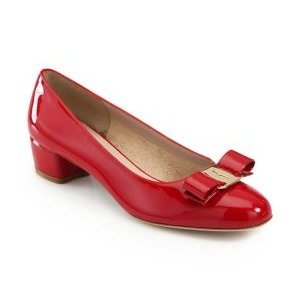 acd219d190177 Salvatore Ferragamo$200 off $800 purchase- Vara Patent Leather Pumps