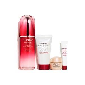 ShiseidoUltimate Defense Strengthen & Resist Wrinkles Set
