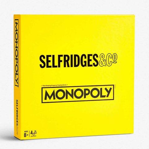 £45入手 购物娱乐两不误Selfridges 独家发售官网联名版大富翁 超有趣设计 冲鸭