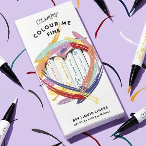 售价$45 内含6色Colourpop 彩色眼线液笔套装上线