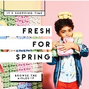 Up to 70% Off+Up to Extra 20% OffKid's Items Sale @ AlexandAlexa