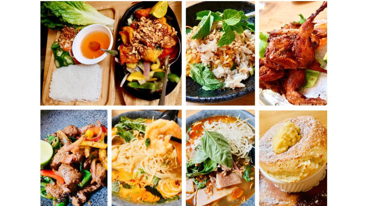 旧金山新派东南亚料理餐馆推荐|Lovessy Aisan Fusion & Souffles Bistro餐厅,好看到舍不得吃的舒芙蕾这里都有