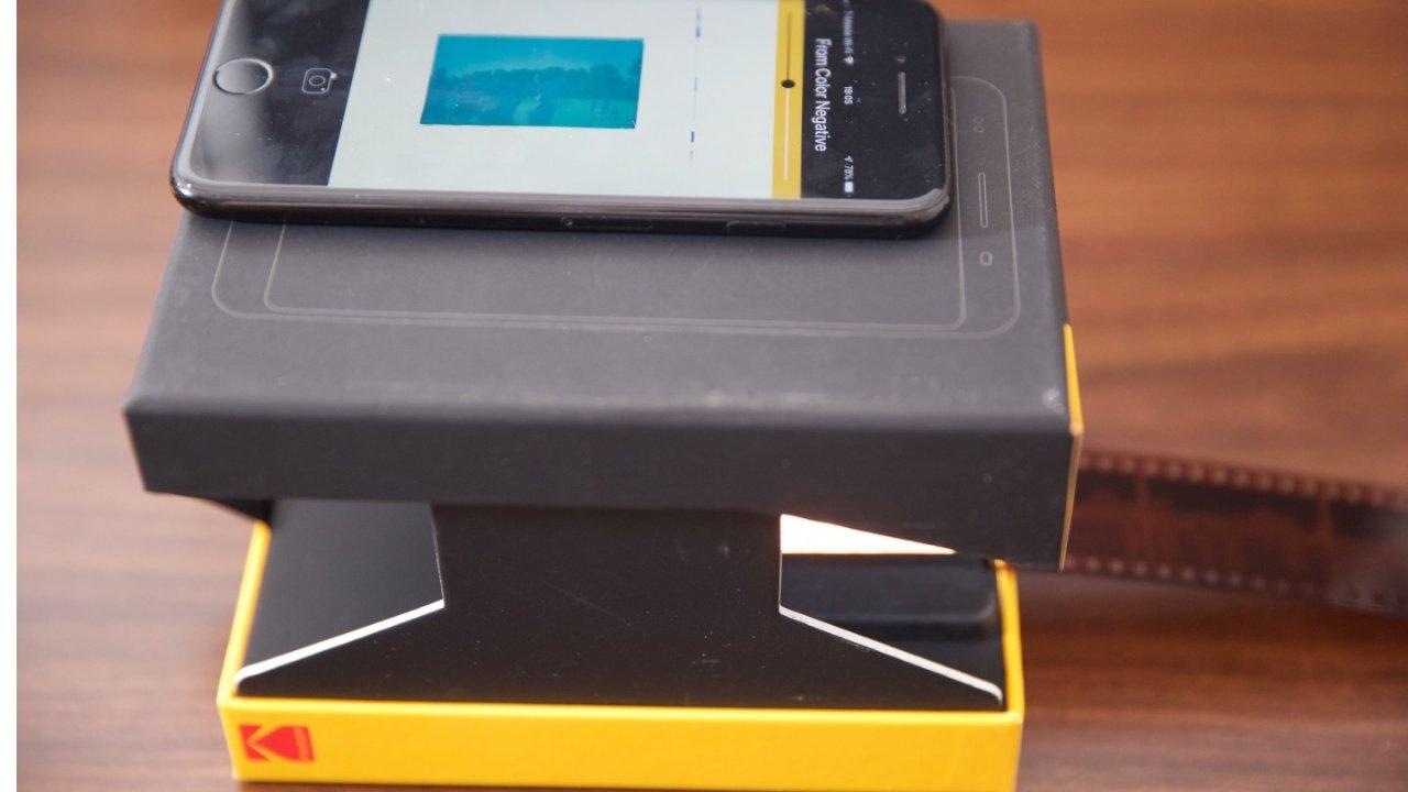 Kodak Mobile Film Scanner开箱以及测评
