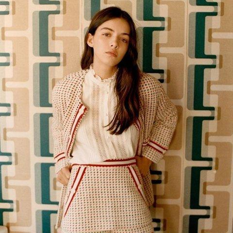 低至4折+满2件额外9折闪购:Maje 夏季私卖上线 收小香风针织外套、优雅连衣裙