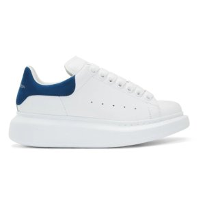 Alexander McQueen蓝尾小白鞋