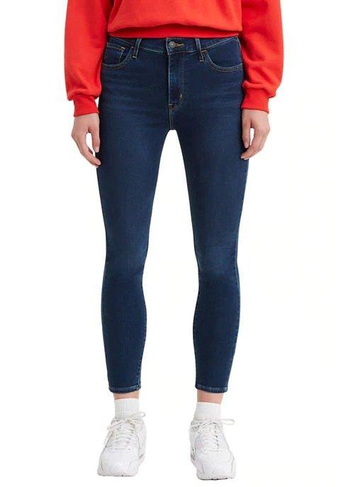 720 高腰9分牛仔裤