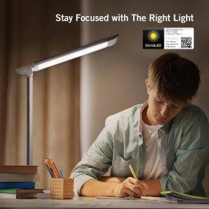 8折现价€31.99(原价€39.99)TaoTronics LED 可调光带充电接口护眼桌面台灯闪购