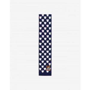 Moschino泰迪熊围巾